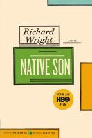 Native Son by Richard Wright (book cover)