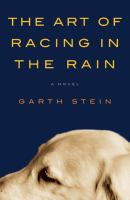 book jacket for Art of Racing in the Rain