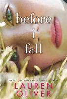 book jacket for Before I Fall