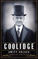 Cover Image for Coolidge by Amity Shlaes