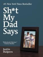 Cover of the book Sh*t my dad says