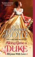 Along came a duke / Elizabeth Boyle.