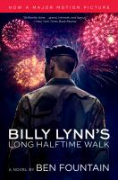 Cover of the book Billy Lynn's long halftime walk