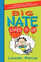 Cover of the book Big Nate lives it up