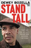 Stand tall : fighting for my life, inside and outside the ring cover image