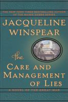 Book cover image - The Care and Management of Lies