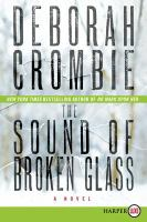 The sound of broken glass [text (large print)]