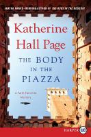 The body in the piazza [text (large print)]