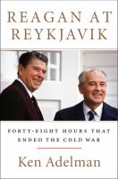 book cover image for Reagan at Teykjavik : forty-eight hours that ended the Cold War