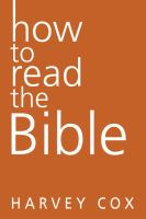 book cover image How To Read The Bible
