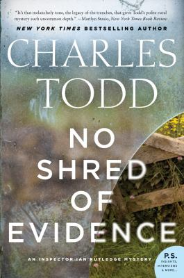 Cover Image for No Shred of Evidence by Charles Todd