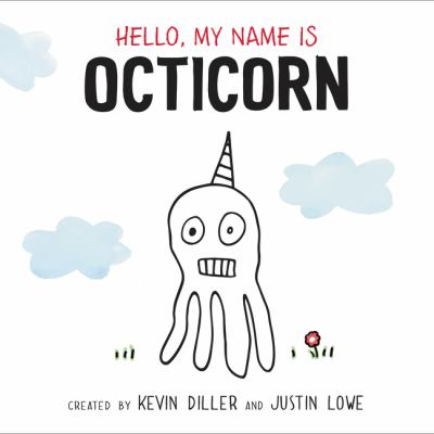 Hello, My Name is Octicorn book jacket