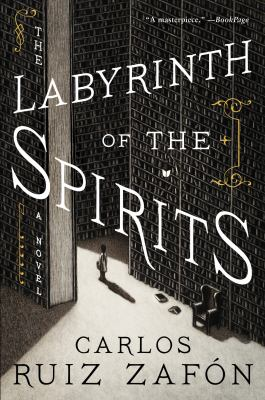 Cover Image for Labyrinth of the Spirits  by Zafon