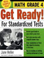 Get Ready! For Standardized Tests [electronic resource]: Math
