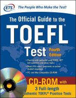 The Official Guide to the TOEFL® Test