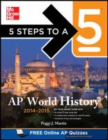5 Steps to a 5 AP World History, 2014-2015 Edition [electronic resource]