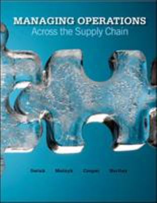 Book cover for Managing operations across the supply chain / Morgan Swink [and others]