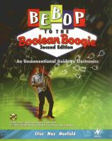 Bebop to the Boolean boogie [electronic resource] : an unconventional guide to electronics fundamentals, components, and processes