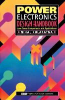 Power electronics design handbook [electronic resource] : low-power components and applications