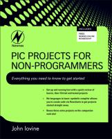 PIC projects for non-programmers [electronic resource]