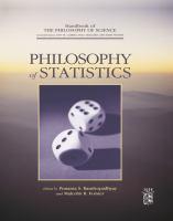 Philosophy of statistics [electronic resource].