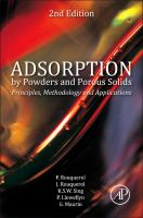 Adsorption by powders and porous solids [electronic resource] : principles, methodology and applications