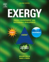 Exergy [electronic resource] : energy, environment, and sustainable development