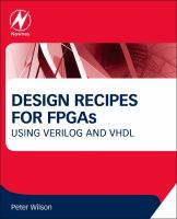 Design recipes for FPGAs [electronic resource]