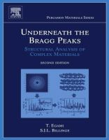 Underneath the Bragg peaks [electronic resource] : structural analysis of complex materials