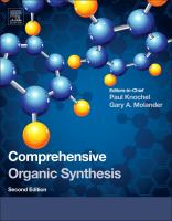 Comprehensive organic synthesis [electronic resource]