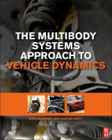 The multibody systems approach to vehicle dynamics [electronic resource]