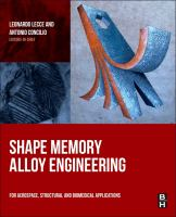 Shape memory alloy engineering [electronic resource] : for aerospace, structural and biomedical applications