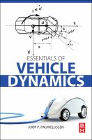 Essentials of vehicle dynamics [electronic resource]