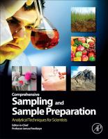 Comprehensive sampling and sample preparation [electronic resource] : analytical techniques for scientists