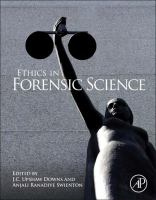 Ethics in forensic science [electronic resource]
