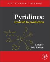 Pyridines [electronic resource] : from lab to production