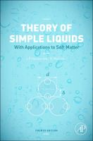 Theory of simple liquids : with applications to soft matter