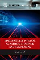 Dimensionless physical quantities in science and engineering [electronic resource]