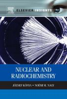 Nuclear and radiochemistry [electronic resource].
