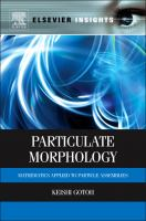 Particulate Morphology [electronic resource]: Mathematics Applied to Particle Assemblies
