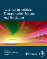 Advances in artificial transportation systems and simulation [electronic resource]