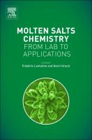 Molten salts chemistry [electronic resource] : from lab to applications