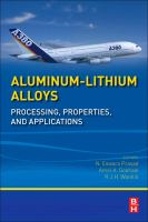 Aluminum-lithium alloys [electronic resource] : processing, properties, and applications
