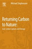 Returning carbon to nature : coal, carbon capture, and storage