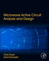 Microwave active circuit analysis and design [electronic resource]