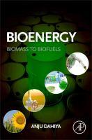 Bioenergy [electronic resource] : biomass to biofuels