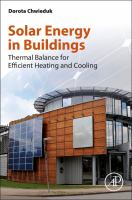 Solar energy in buildings [electronic resource] : thermal balance for efficient heating and cooling
