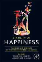 Stability of happiness [electronic resource] : theories and evidence on whether happiness can change