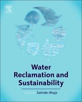 Water reclamation and sustainability [electronic resource]