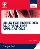 Linux for embedded and real-time applications [electronic resource]
